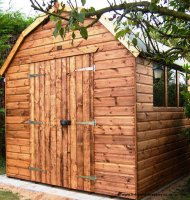 Montana Barn Style Shed 10' x 8' including Vat and Delivery*